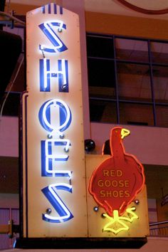 Neonopolis - Red Goose Shoes