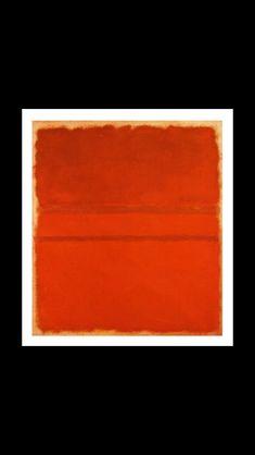 - Mark Rothko - Red, No. 5, 1961- Oil on canvas - 177,8 x 160 cm - Nationalgalerie, Staatliche Museen zu Berlin, Berlin (..)