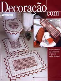 Todo para crear ba os y cocinas en crochet ba os - Alfombras de bano ...