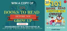 Enter to win an autographed copy of 101 Books to Read Before You Grow Up, written by @book_mommy (@QuartoKids 2016) http://gvwy.io/jli6dc5