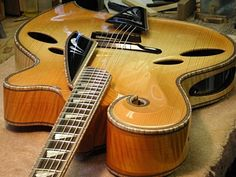 Modern Hand-carved Archtop
