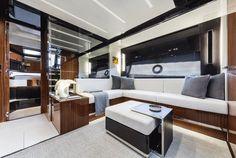 Riva 56 Rivale - Interior - Salon