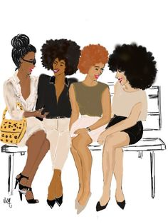 I love my girls by Nikisgroove on Etsy