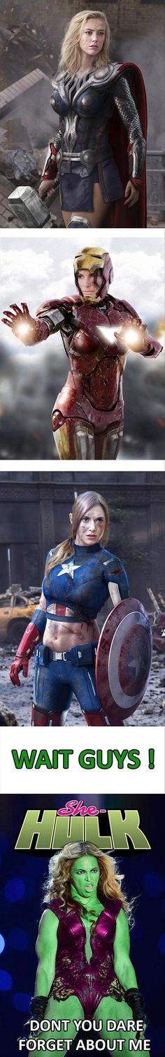 female superheros