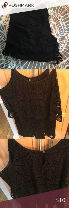 Black Lace Romper! Cute float black romper! Mossimo Supply Co Dresses