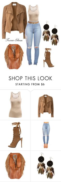 """Natural Girl"" by terra-glam ❤ liked on Polyvore featuring Doublju, Amanda Wakeley, Giuseppe Zanotti, Yves Saint Laurent, Boohoo and Gucci"