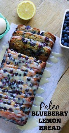 really hope this is good...Paleo Blueberry Lemon Bread - www.savorylotus.com.001
