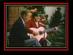 The incredible Jose Feliciano plays guitar how no other guitarist of this planet!  mama don't allow with Bing Crosby jam 1968
