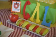 A Very Hungry Caterpillar Party Food