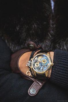 Breva Watch. Luxury Style