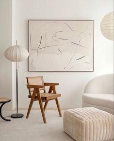 Living Room Inspiration, Interior Inspiration, Home Decor Bedroom, Living Room Decor, Interior Minimalista, Deco Design, Minimalist Interior, Wabi Sabi, Home And Living
