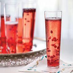 Pomegranate Prosecco | MyRecipes.com