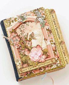 Mini Album printemps Fairy Garden scrapologist  ( Cindy)