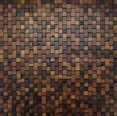 Stacked – Pixel | Heliot & Company    Recycled Timber. comes in panels.