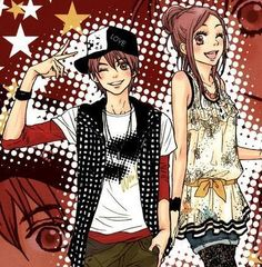 Otani and Risa from Lovely Complex. This is such a cute and funny romantic comedy.