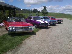 64 Impala, 69 Camaro, 72 Nova, 72 Nova