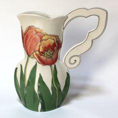 Tulip Pitcher Vase