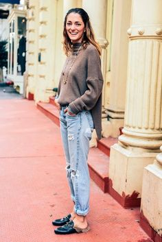 5021d5b0344 Street Style  A Laid-Back Look To Try Now (Le Fashion). Fur LoafersGucci ...