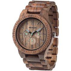 WeWood Kappa Nut Wood Watch | Walnut from Sportique