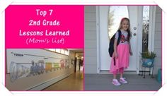 Top 7 2nd Grade Lessons Learned (Mom's list) #Motherhood #Parenting