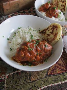 Indian Butter Chicken and Homemade Naan — My Diary of Us