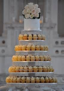 wedding cupcake tower with 300