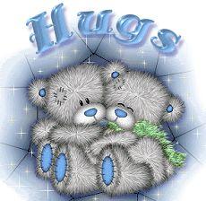 Tatty Teddy Bears - Hugs to you my friend! Teddy Bear Quotes, Teddy Bear Hug, Cute Teddy Bears, Bear Hugs, Tatty Teddy, Hug Pictures, Teddy Bear Pictures, Xmas Clip Art, Cute Friendship Quotes