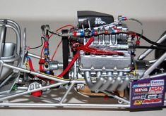 Revell Monogram Royal Purple Sequent Top Fuel Dragster, by Shawn Payne Top Fuel Drag Racing, Funny Car Drag Racing, Model Cars Kits, Kit Cars, Revell Model Cars, Engine Detailing, Model Cars Building, Revell Monogram, Top Fuel Dragster