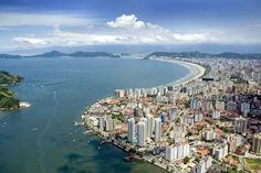 cidade de Santos - Brasil <3