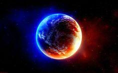 planeta frio e quente