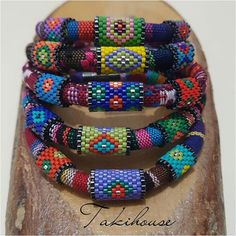 Daffodil bohemian bracelets are also complete😊 # fashionjewelry . Bead Embroidery Jewelry, Beaded Jewelry Patterns, Beading Patterns, Beaded Embroidery, Ladies Dress Watches, Crafts With Pictures, Bohemian Bracelets, African Jewelry, Bead Jewellery