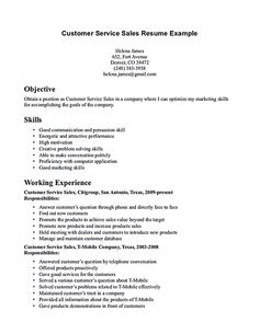 customer service representative resume customer service resume consists of main points such as skills abilities