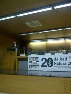 @juanrplaza 24 may Monago interviene en la jornada '20 Años de Red Natura', en Cáceres. Con la naturaleza y con el progreso. Con ambos pic.t...