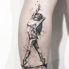 Tasteful Tattoos, Love Tattoos, Beautiful Tattoos, Girl Tattoos, Dance Tattoos, Hip Hop Tattoo, Mama Tattoo, Geometric Rose Tattoo, Tattoo Sketches