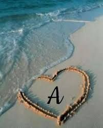 Love Heart Images, Cute Love Images, Love Photos, A Letter Wallpaper, Heart Wallpaper, Wallpaper Iphone Liebe, I Miss You Wallpaper, Stylish Alphabets, Cute Love Wallpapers