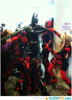 Deadpool and Gotham