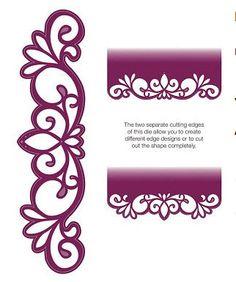 Creative Expressions Sue Wilson Die -Mini Gemini Dies - Ara- CED4413 by PNWCrafts on Etsy