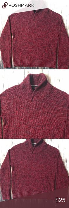 🦄 AE Outfitters Marl Knit Sweater Fall ready marl knit sweater by American Eagle Outfitters, Men's Size medium it's a wool blend with a hint of stretch. Will definitely keep you warm on those cool nights. American Eagle Outfitters Sweaters V-Neck