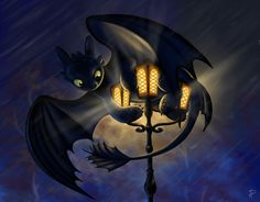 Secret that only he knows ...  How to train your dragon, toothless, night fury, dragon