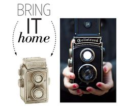 """""""Bring It Home: Dot & Bo Rolleicord Camera Décor"""" by polyvore-editorial ❤ liked on Polyvore featuring interior, interiors, interior design, home, home decor, interior decorating, Dot & Bo and bringithome"""