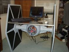 The Tie Fighter Workstation