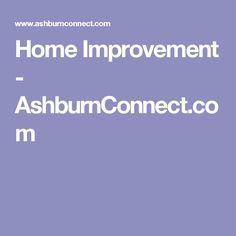 Home Improvement - AshburnConnect.com