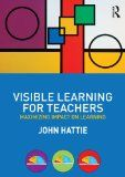 Visible Learning for Teachers...a great book every teacher needs to read.