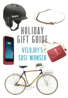 Holiday Gift Guide for Bike Lovers | VeloJoy on Iva Jean Bike Style, Holiday Gift