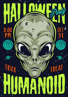 Colorful Halloween 2021 Vector Poster Design by DGIM Studio.