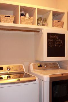 ikea hack: laundry room  wearethatfamily.com