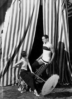 George Hoyningen-Huene  - Bathing Suits, Vogue 1928. S)