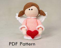 Amigurumi pattern crochet dog pattern DIY PDF by FerFoxDesign