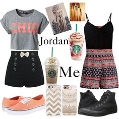 Requested set // Jordan by kirra-joy-brooks-02 on Polyvore featuring ONLY, Boohoo, Converse, Vans, Casetify, women's clothing, women's fashion, women, female and woman