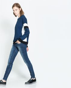 5 - POCKET TROUSERS WITH SIDE ZIP - Trousers - TRF | ZARA Canada